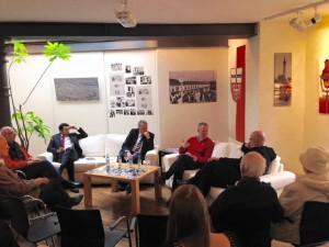 """Diskussion: Zeitzeugen """"Züge in die Freiheit 1989  präsentiert den Freiheiter-Preis und 2015"""""""