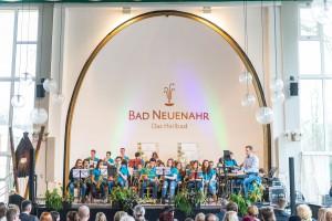Auftritt der Bigband des Peter-Joerres-Gymnasiums während derMatinée der Freiheiter in der Konzerthalle im Kurpark Bad Neuenahr / Foto: Dominik Ketz