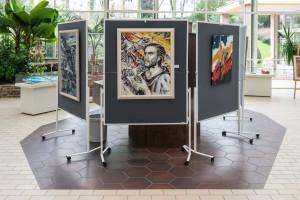 Kunstausstellung der Are Gilde in der Konzerthalle im Kurpark Bad Neuenahr / Foto: Dominik Ketz
