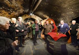 """Vortrag: """"Wein, Gesundheit & Kunst"""" mit Angelika Castelli, Paul Gieler und Dr. Gerhard Kreuter / Foto: Jürgen Vollrath"""