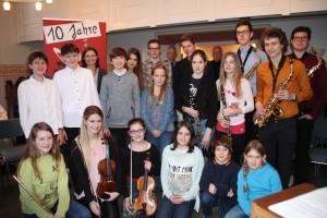 """Konzert: """"Freiheit und Musizieren"""" der Musikschule im  Kreis Ahrweiler / Foto: Hans-Willi Kempenich"""