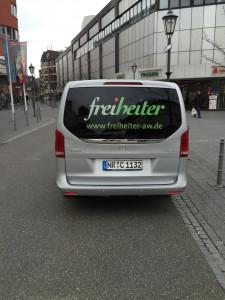 Der VIP-Shuttle wurde durch KBM Bad Neuenahr gewährleistet