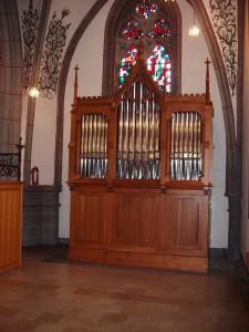 Orgel Solowerk der St. Laurentiuskirche in Ahrweiler / Bild: Werner Mertens