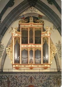 Orgel der St. Laurentiuskirche in Ahrweiler / Bild: Werner Mertens