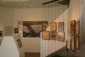 Das Friedensmuseum von Innen